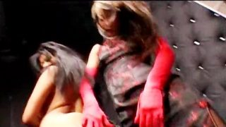Lucy Lee Dominatrix And Slave Adores Their Ebonies  Blowjobs Facial Cumshot